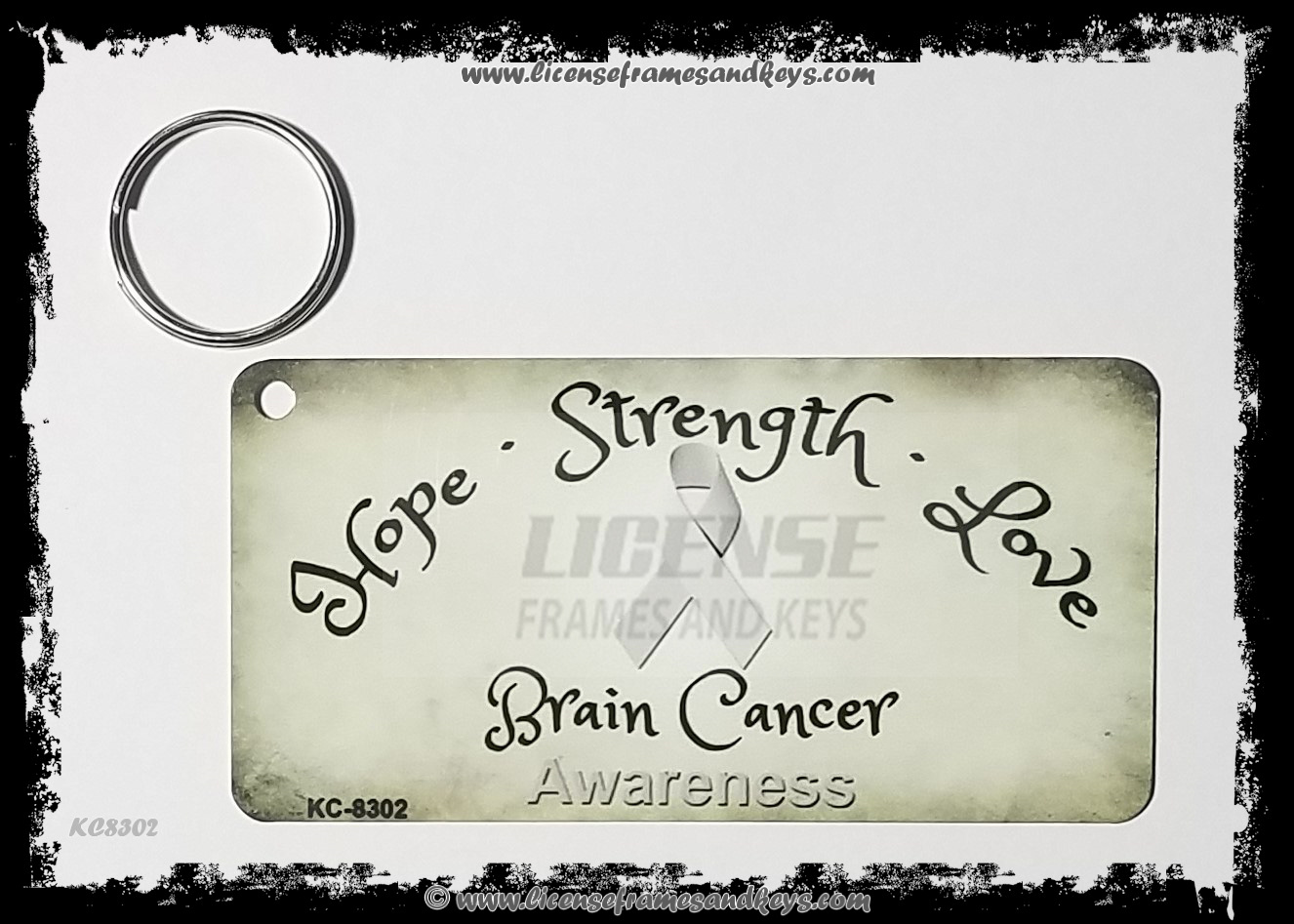 LFK-KC BRAIN CANCER RIBBON
