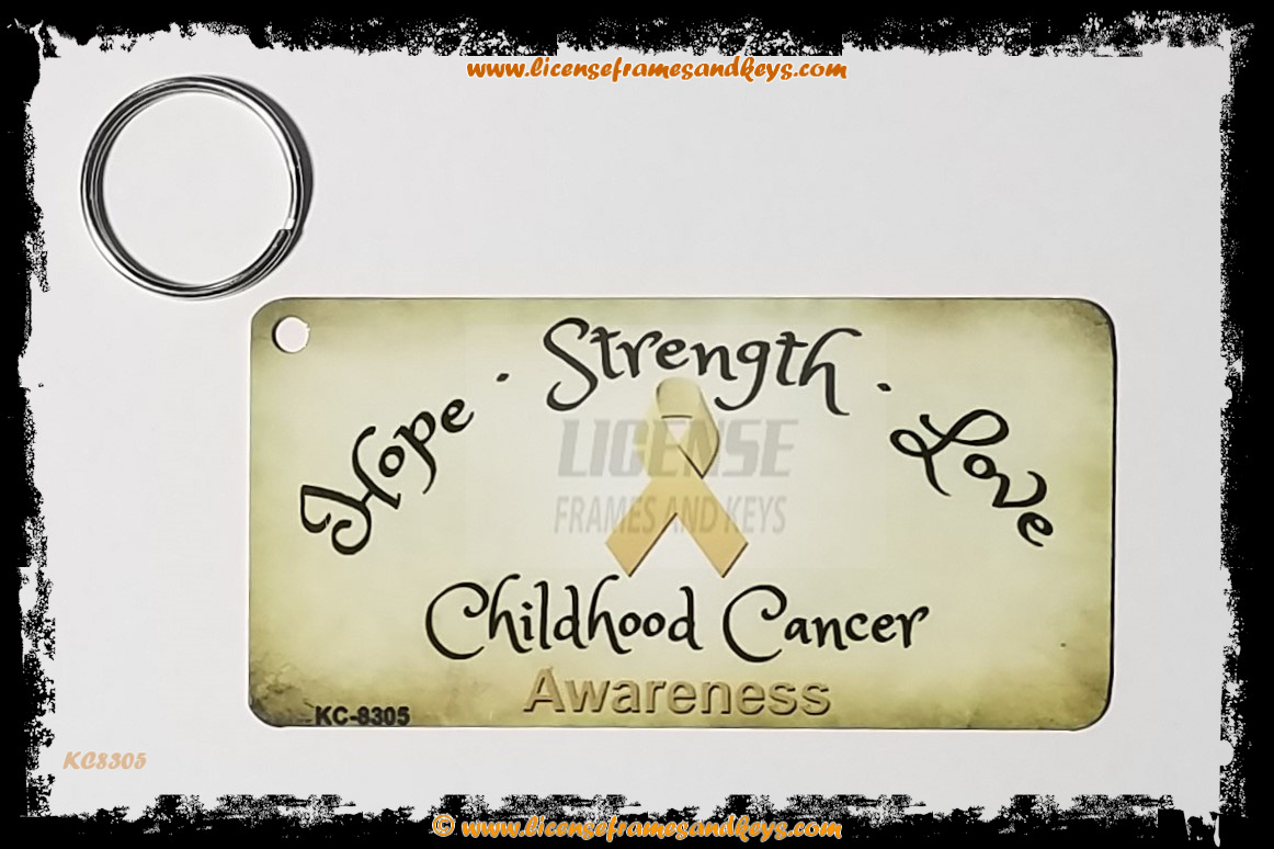 LFK-CHILDHOOD CANCER RIBBON