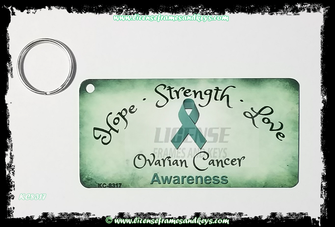 LFK-KC OVARIAN CANCER RIBBON