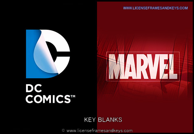 DC/MARVEL KEY BLANKS